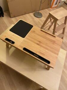 Wooden Multifunctional Flat Desk foldable