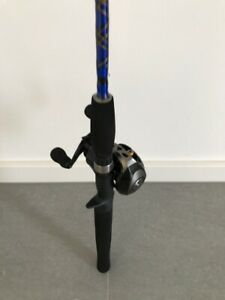 Bait caster rod and reel combo