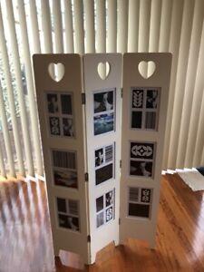 SPOTLIGHT photo frame divider screen
