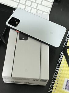 Google pixel 4 clear white