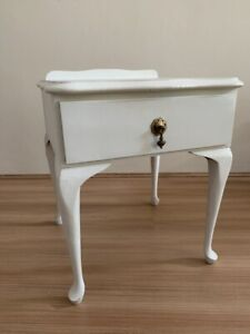 White French Provincial bedside table