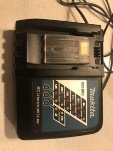Makita battery and charger