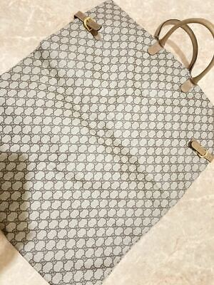 Unused Authentic Gucci Vintage GG Pattern Garment Bag New