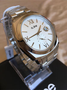 New & Authentic Silver Tone a_line Watch by Swiss Watch Intl Group Maroubra Eastern Suburbs Preview