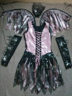 LADYS FAIRY WITCH DRESS OUTFIT ADULTS FANCY DRESS HALLOWWEN PARTY. SMALL 10-12 - Hallowwen Costume