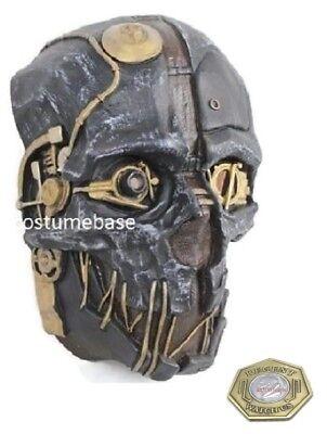 DISHONORED MASK Corvo Attano rat urethane costume Halloween + game coin - Halloween Rat Games
