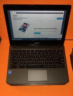 """Acer Chromebook C720-2844 11.6"""" Celeron 2957U@ 1.4Ghz 4GB 16Gb WiFi"""