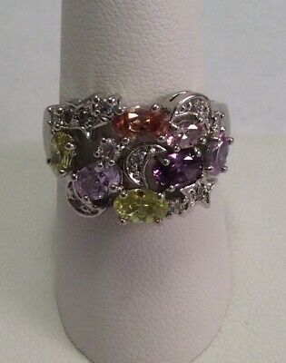 Kirks Folly NWOT Galaxy Pastels Star Moon Celestial Ring Size - Celestial Ring