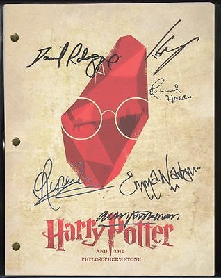 """HARRY POTTER and the Philosopher's Stone W/ reproduction signatures  """"C3"""""""