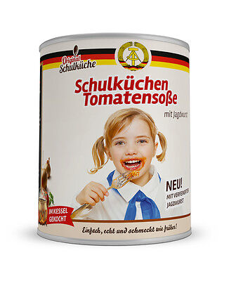Original DDR Schulküchentomatensoße- 800g