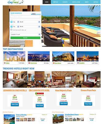 Travel Hotel Flight Car Search Engine Website