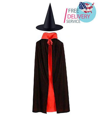 Halloween Cape for Women Men Unisex Adult, Cloak Party Vampires Cosplay Cape