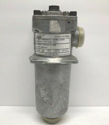 Hydac Hycon Division 0110r010bn3hc Filter Assembly