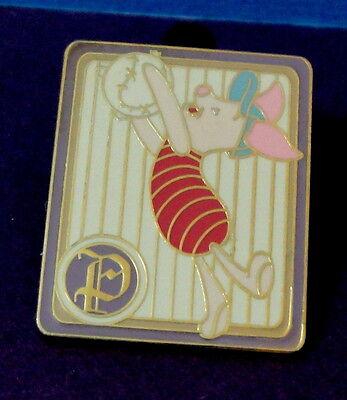 Disney Winnie the Pooh  PIGLET 100 Acres Baseball Card retired Pin
