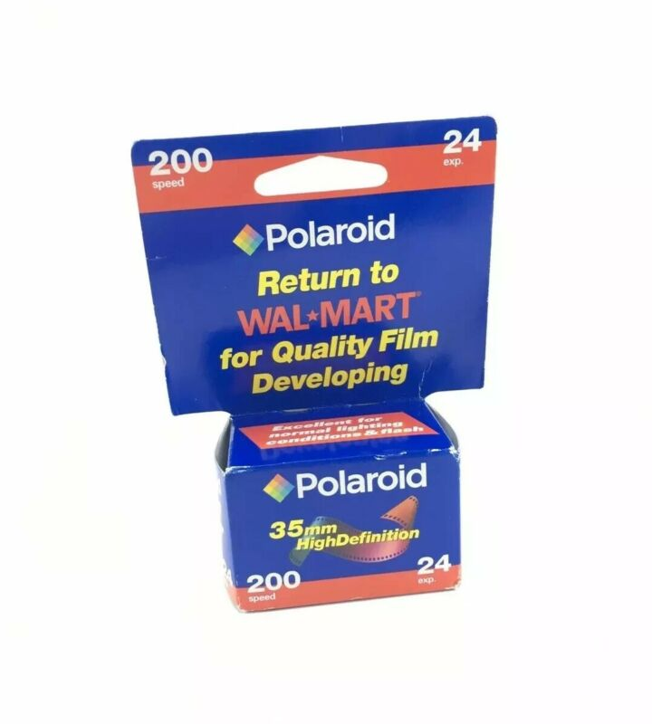Brand New POLAROID 35mm High Definition 200 Speed 24 Exp. (Expired: 03/2006)