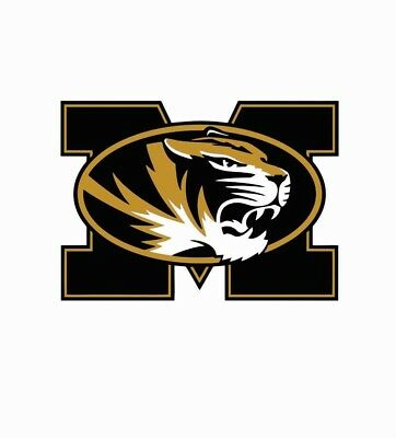 Missouri Tigers College Football Color Sports Decal Sticker-Free