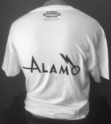 VINTAGE ALAMO GUITAR T-SHIRT SIZE XL and all other sizes