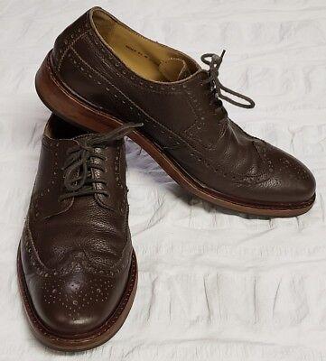 (Cole Haan Cooper Wingtip Oxford  Men's Size 9.5 M Brown Chocolate)