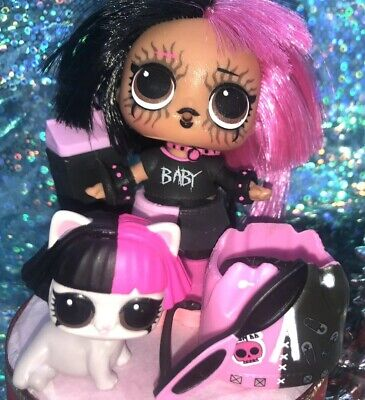 Lol surprise dolls, METAL BABE. Big sis & Kitty. Lot of 2 Color changers.
