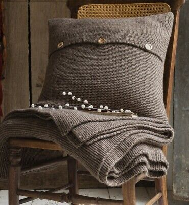 Christy Karina Espresso Feather Filled Cushion RRP: £50
