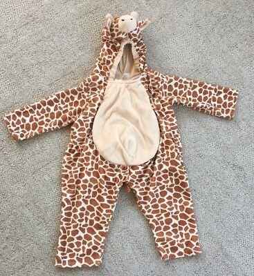 Child Toddler Plush Giraffe Halloween Pretend Play Costume Size 2T-4T - Toddler Giraffe Costume