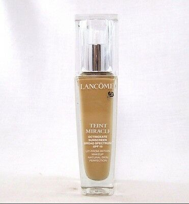 Lancome Teint Miracle Natural Skin Perfection Foundation ~ Bisque 4 ( W ) ~ 1 oz