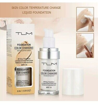 TLM Flawless Colour Changing Foundation Makeup Skin Tone Matching Concealer