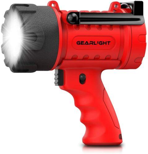 GearLight Waterproof LED Spotlight Flashlight Watchman - Outdoor, Camping, Boat
