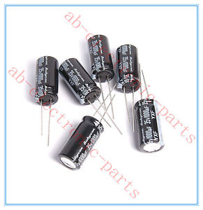 10pcs-1000uf-35v-Rubycon-Radial-Electrolytic-Capacitors-12-5x25mm