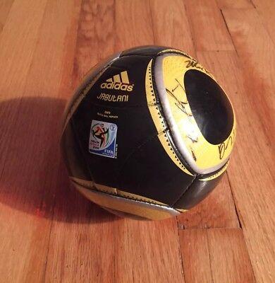 ADIDAS JABULANI SOUTH AFRICA 2010 Signed Mini SOCCER BALL FIFA WORLD CUP RARE for sale  Pittsburgh