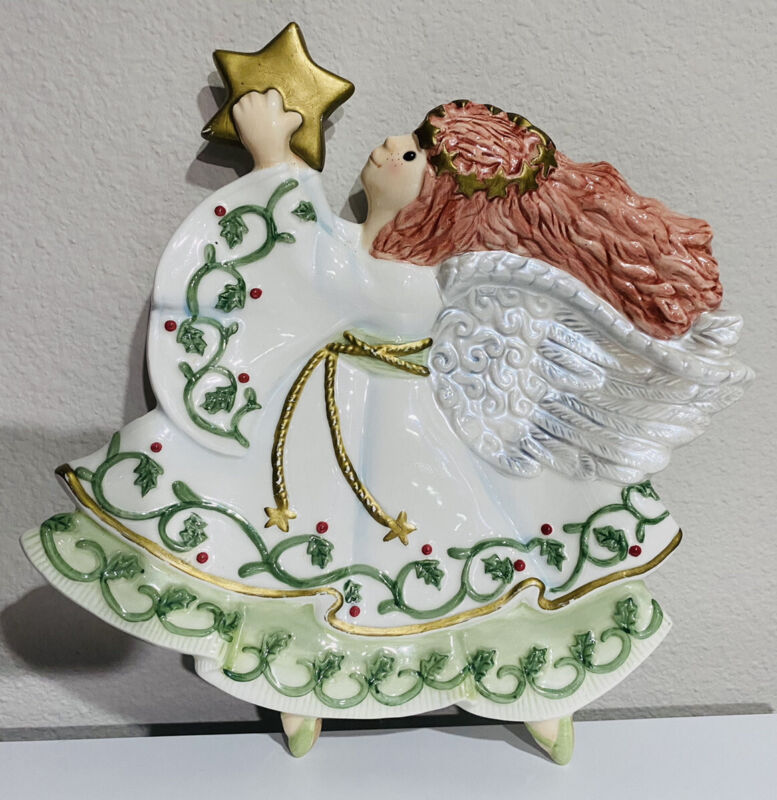 Fitz and Floyd Moonbeams Angel Candy Dish Collectible