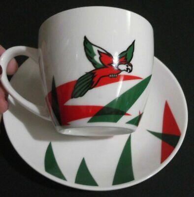 GRECIA ¡Taza de porcelana genuina Loumidis CAFÉ GRIEGO LORO TRADICIONAL sin...