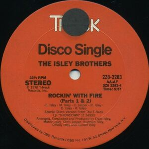 ISLEY-BROTHERS-Rockin-With-Fire-1979-U-S-2-Track-12inch