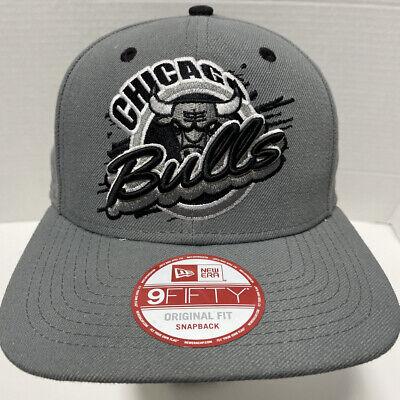 Chicago Bulls Windy City New Era Snapback Gray Cap Hat