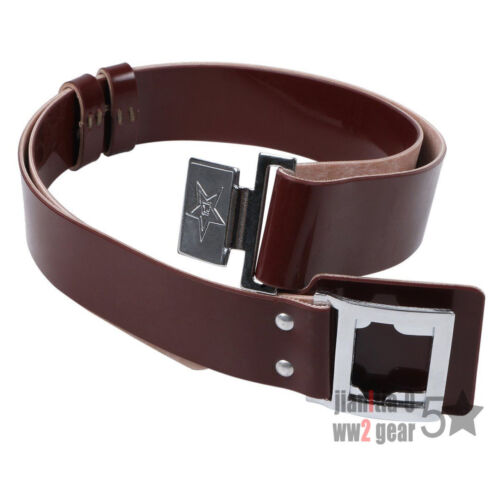 SURPLUS CHINESE MILITARY ARMY PLA TYPE 65 BELT COLOR BROWN