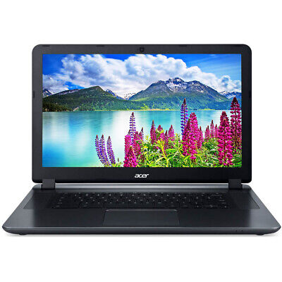 """NEW Acer Chromebook 15.6"""" HD Intel N3060 2GB RAM 16GB eMMC Webcam BT HDMI Gray"""