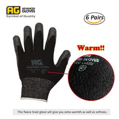 Ag Nitex P-200-w Winter Work Glove Nitrile Foam Coated Glove Fleece-featured