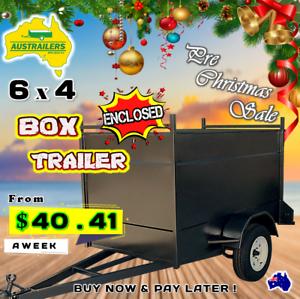 Enclosed Box trailers Australian Made Heavy Duty