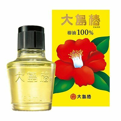 Oshima tsubaki Hair Oil Camellia Oil 100% 40ml from Japan