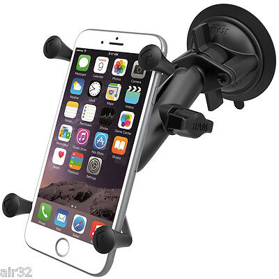 RAM X-grip Suction Cup Mount For Iphone 6+, With Or Witho...