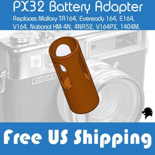 Yashica Electro 35 Camera G, GS, GSN, GTN, GL - PX32 HM-4N Battery Adapter 1pcs