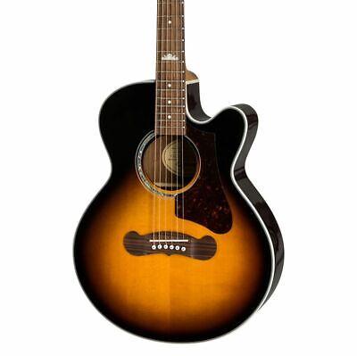 Epiphone EJ-200SCE Coupe Acoustic Guitar - Vintage Sunburst