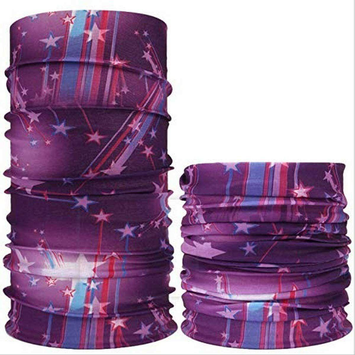 Magic Headband Elastic Seamless Bandana Scarf UV Resistence Headwear Protective Clothing, Shoes & Accessories