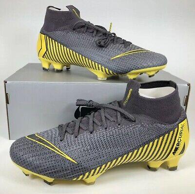 promo code 73343 271cd Nike Mercurial Superfly 6 Elite FG Soccer Cleats Football AH7365-070 Men  Size 10
