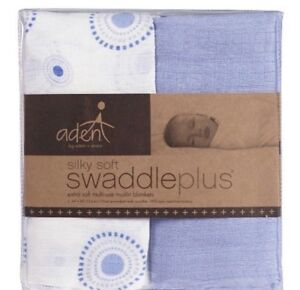 4 Aden by Anais Muslin swaddle set - brand new