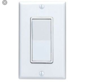 Electrical supplies decora switch wall plate  $2 each