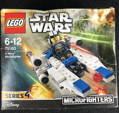 LEGO Star Wars U-Wing Microfighter Building Toy (75160) Mini Figure *NEW SEALED*