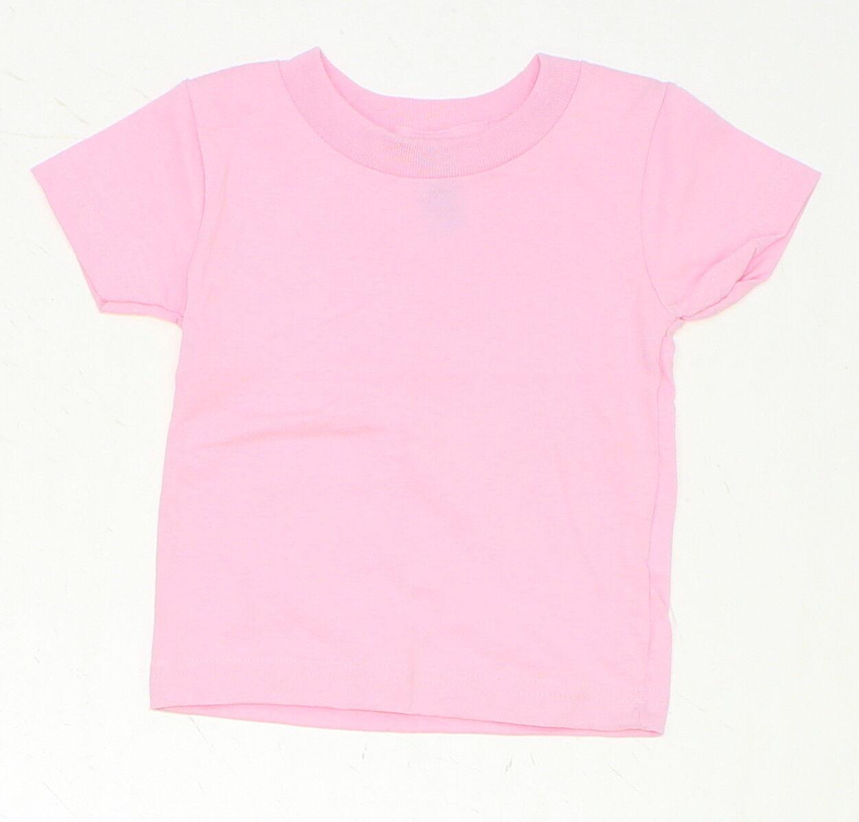 NEW Rabbit Skins Envelope Fold Toddler Tee T-Shirt Yellow 12 Months 01680