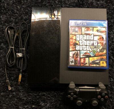 Sony PlayStation 4 Console - Jet Black