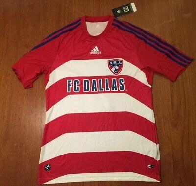 2696a99cc12 FC DALLAS Toja 8 Adidas ClimaLite MLS Soccer Jersey Football Shirt Mens Red  M